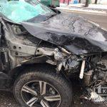 ДТП в Кривом Роге: столкнулись Hyundai и Renault
