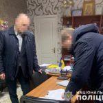 Главе одной из теробщин Днепропетровской области, обвиняемому во взяточничестве, избрали меру пресечения