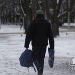 Во время гололеда в Кривом Роге травмировались два человека