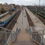 Пешеходный мост на вокзале Кривой Рог — Главный в 2020 году планируют реконструировать