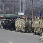 Начался традиционный парад ко Дню освобождения Кривого Рога