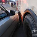 В Кривом Роге случилось ДТП с троллейбусом