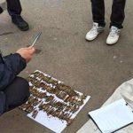 В Кривом Роге полицейские изъяли у мужчины 124 патрона