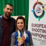 Криворожанка завоевала золото и бронзу на чемпионате Европы по стрельбе