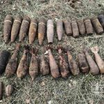 Схрон снарядов обнаружен в селе под Кривым Рогом