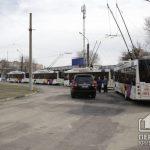 В Кривом Роге новые троллейбусы выехали на продленный маршрут №10