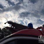 На предприятии под Кривым Рогом произошел масштабный пожар