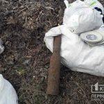 Во время работ на поле в Криворожском районе мужчина нашел снаряд