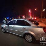 Недалеко от «свадебного перекрестка» в Кривом Роге столкнулись Chevrolet и Skoda