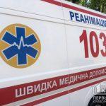 Криворожские спасатели достали карету скорой помощи из грязи