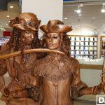Криворожский дуэт живых скульптур победил на Всеукраинском фестивале уличного искусства