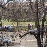 В Кривом Роге после столкновения ЗАЗ-1103 вылетел на обочину