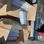 5 тысяч медицинских масок получили сотрудники городского троллейбуса в Кривом Роге