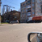 На перекрестке в Кривом Роге столкнулись Skoda и Ford