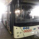 В Кривой Рог доставили 7 новых троллейбусов