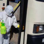 Безопасность для работников: в Метинвесте рассказали, как дезинфицируют служебный транспорт