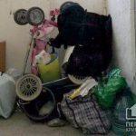 Антисанитария над головой: криворожане жалуются на соседку, которая устроила из подъезда свалку и держит в квартире 13 собак
