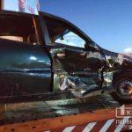 ДТП в Кривом Роге: два авто столкнулись на регулируемом перекрестке