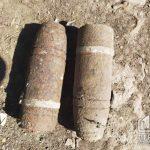 В Пятихатском районе граждане обнаружили на огородах боеприпасы