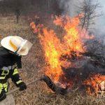В Кривом Роге за прошедшие 24 часа зафиксировали 5 пожаров на открытых территориях и свалках