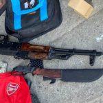 Сумку с оружейным арсеналом оставили под подъездом многоэтажки в Кривом Роге