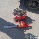 В Широком полицейские задержали злоумышленника, который украл сварочный аппарат и бензокосу