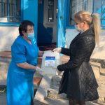 Компания Метинвест передала медикам районных ФАПов более 500 литров антисептика