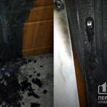 В подъезде многоэтажки, где криворожанка устроила свалку, случился пожар
