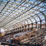 В Кривом Роге на стадионе ДЮСШ №3 уложили новый фундамент
