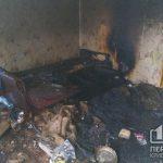 В Широком в результате пожара погиб мужчина