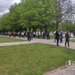 Онлайн: криворожане вышли на акцию требовать открытия рынков