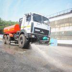 ГОКи Метинвеста выполняют мероприятия городской экологической программы по пылеподавлению