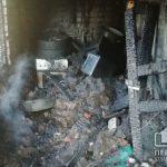 В пылающем доме спасатели обнаружили труп криворожанки