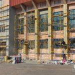 Когда в Кривом Роге обещают закончить ремонт фасада стадиона «Металлург»
