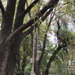 В Криворожском районе мужчина совершил самоубийство в посадке