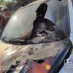 В Кривом Роге в гараже сгорел Volkswagen