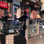 В Україні змінено правила відвідування літніх майданчиків кав'ярень та ресторанів