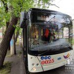 Обновленный график движения троллейбуса №11