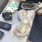 У ворот криворожской колонии задержали мужчину с наркотиками и холодным оружием