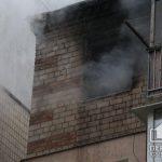 В Кривом Роге горела квартира в жилой 5-этажке