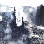 В Кривом Роге сгорела хозяйственная постройка