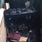 В одном из домов Кривого Рога горел балкон жилой квартиры