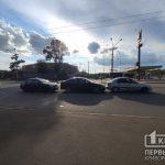 Три авто столкнулись на Волгоградской в Кривом Роге