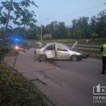 На Кокчетавской в Кривом Роге перекрыто движение из-за ДТП