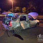 В Кривом Роге в ДТП пострадали водитель и пассажир