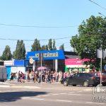 Утром на остановках в Кривом Роге образовались огромные очереди на маршрутки