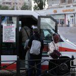 Большинство опрошенных криврожан ездят на работу во время карантина в забитых маршрутках