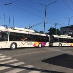 В Кривом Роге 7 новых троллейбусов будут ездить на трех маршрутах