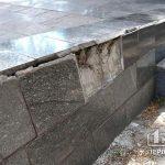 В Кривом Роге неизвестные отбили плитку на братской могиле