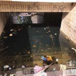 В Кривом Роге затопило подземный переход